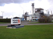 Rohm & Hass Industrial plant
